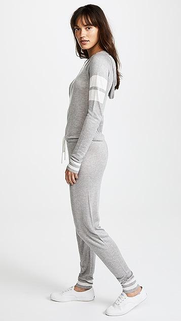 Spiritual Gangster x Madeleine Thompson Stripe Jumpsuit