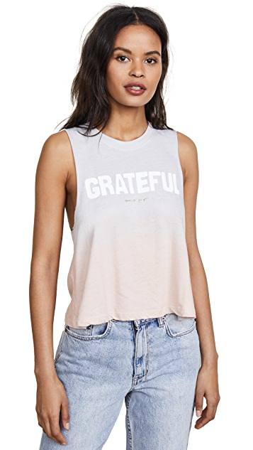Spiritual Gangster Grateful Crop Tank