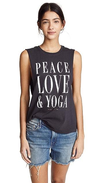 Spiritual Gangster Peace Love Yoga Tank