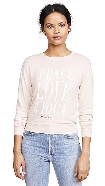 Spiritual Gangster Peace Love Yoga Savasana Pullover