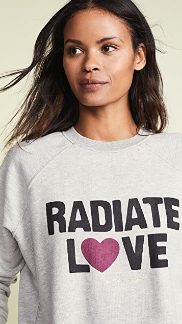 Spiritual Gangster Rad Love Classic Crew Sweatshirt