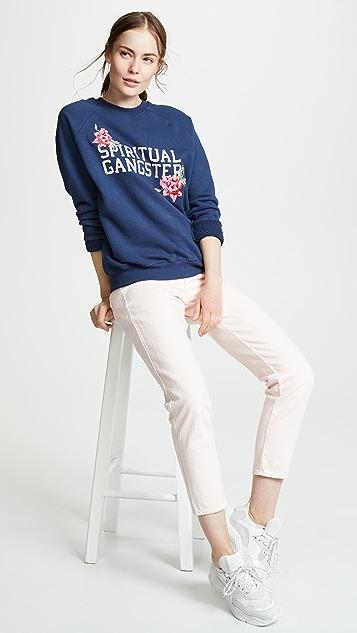 Spiritual Gangster SGV Floral Classic Crew Sweatshirt