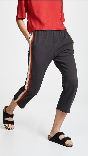 Spiritual Gangster Rainbow Floral Perfect Harem Pants