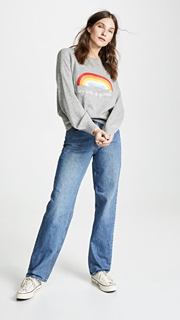 Spiritual Gangster Today Rainbow Block Party Sweatshirt