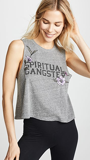 Spiritual Gangster SG Crop Tank