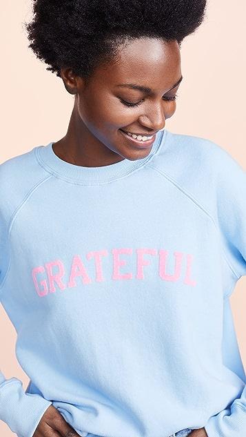 Spiritual Gangster Grateful Classic Crew Sweatshirt