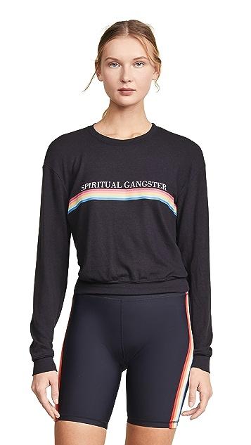 Spiritual Gangster Rainbow Savasana Sweatshirt