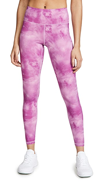 Spiritual Gangster Sunset Tie Dye Leggings