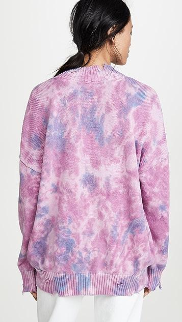 Spiritual Gangster Tie Dye Sweater