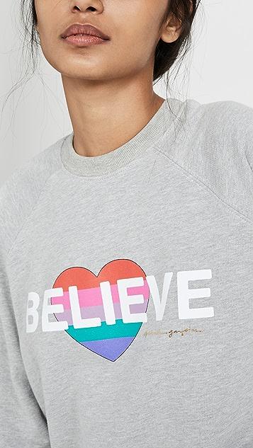Spiritual Gangster Believe 经典圆领运动衫