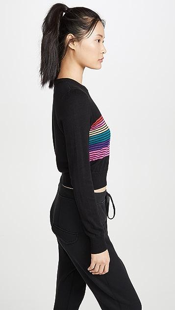 Spiritual Gangster Stripe Nikki Sweater