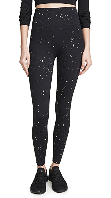 Spiritual Gangster Foil Print Essential Leggings