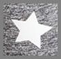 Medium Heather Grey Star Print