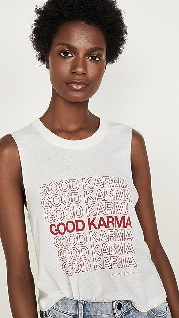 Spiritual Gangster Karma Crop Tank