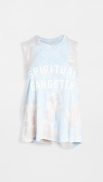 Spiritual Gangster Surplice Back Swing Tank