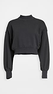 Spiritual Gangster Blake Mock Neck Sweatshirt