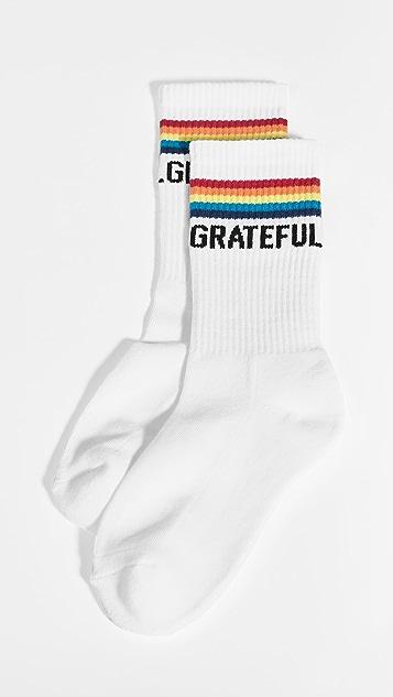 Spiritual Gangster Rainbow SG Socks
