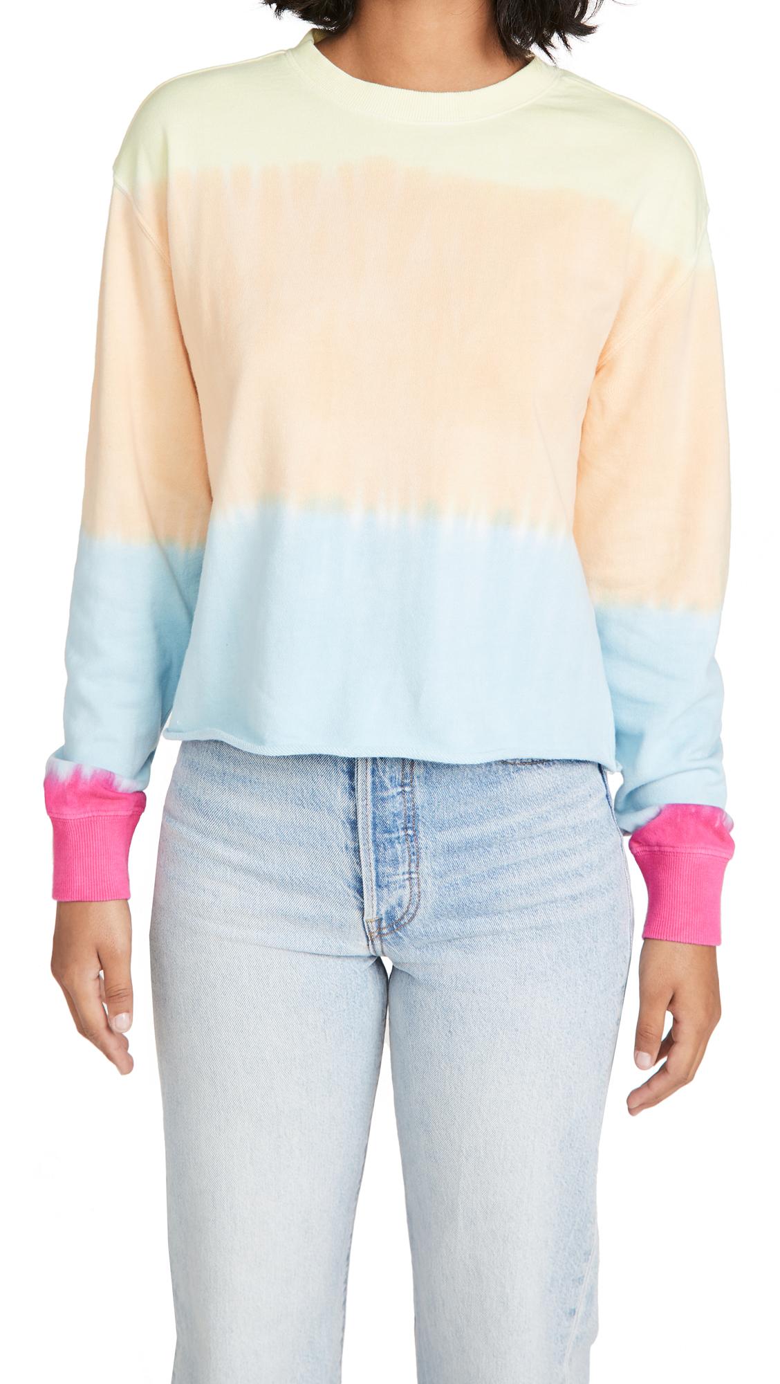Spiritual Gangster Heart Sky Mazzy Pullover Sweatshirt