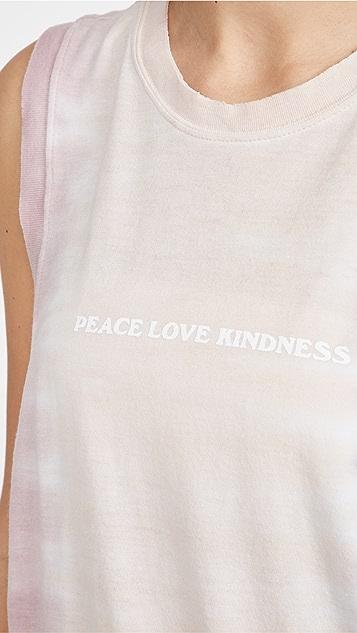 Spiritual Gangster Kindness Balance 背心
