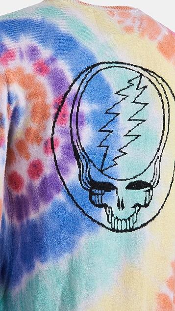 Spiritual Gangster x Grateful Dead Skull Cashmere Sweater