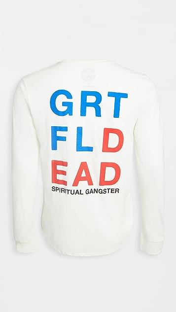 Spiritual Gangster x Grateful Dead Lightning Skull Tee
