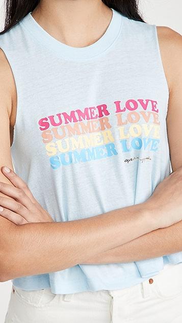 Spiritual Gangster Summer Love Crop Tank