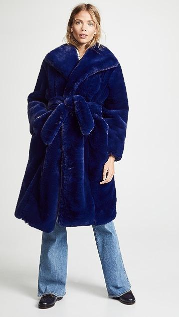 Samantha Pleet Sovereign Faux Fur Coat