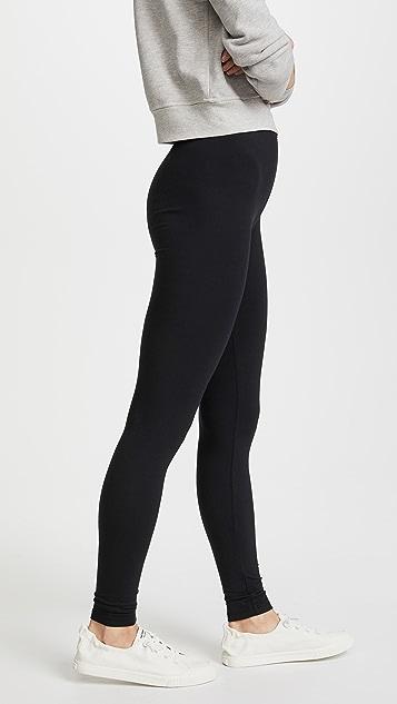 Splendid 莫代尔纤维贴腿裤