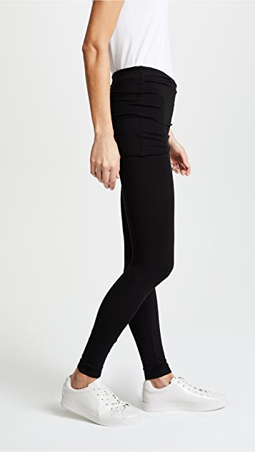 Splendid Fold Over Leggings