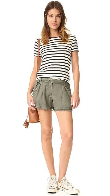 Splendid Crosshatch Shorts