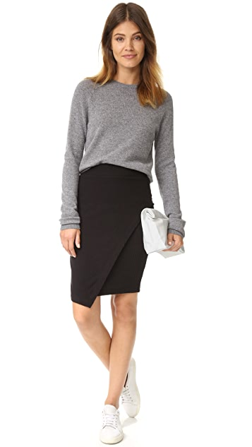 Splendid Sylvie Rib Skirt