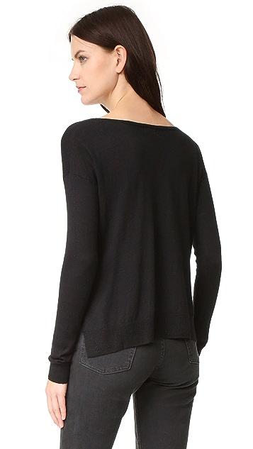 Splendid Cropped Sweater