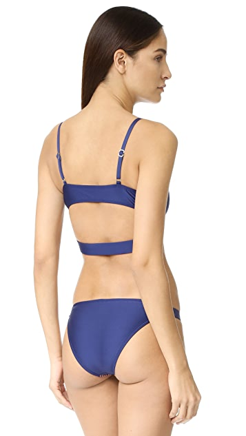 Splendid Stitch Bralette Bikini Top