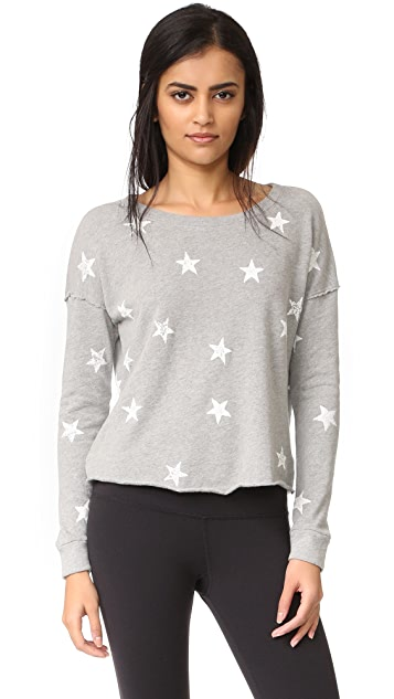 Splendid Ashbury Star Sweatshirt