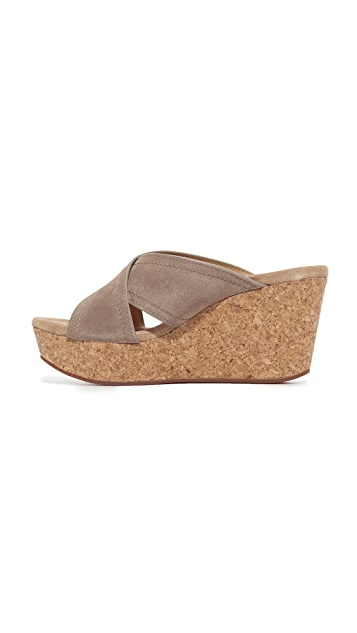 Splendid Joan Cork Wedges