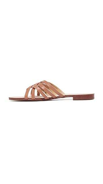 Splendid Jojo Leather Slides