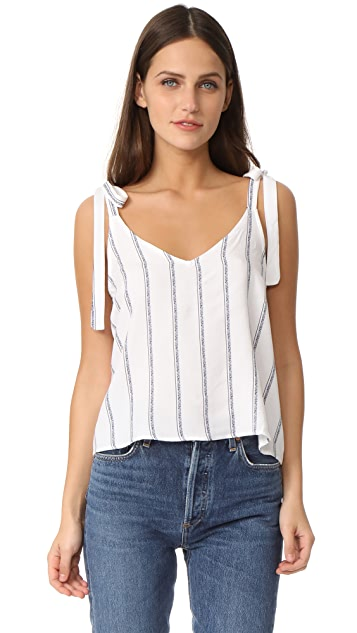 Splendid Rose Stripe Tank