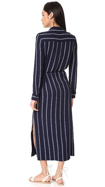 Splendid Rose Stripe Dress
