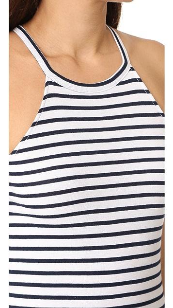Splendid 1x1 Venice Stripe Bodysuit
