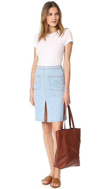Splendid Indigo Skirt