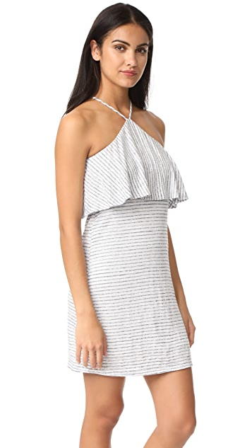 Splendid Linen Mini Stripe Dress