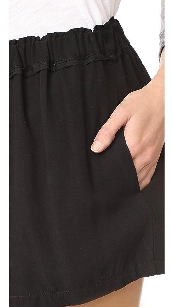 Splendid Voile Shorts