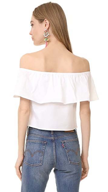 Splendid Off the Shoulder Top