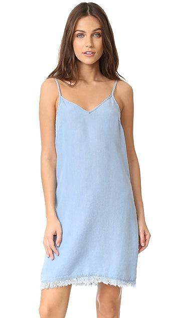 Splendid Chambray Slip Dress