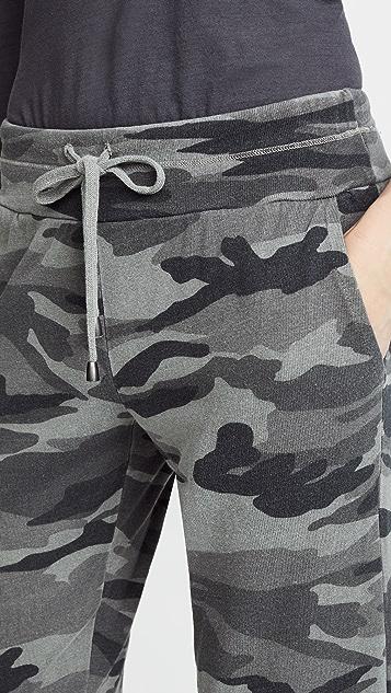 Splendid Camo Active Jogging Pants