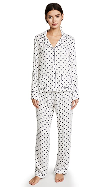 Splendid Polka Dot PJ Set