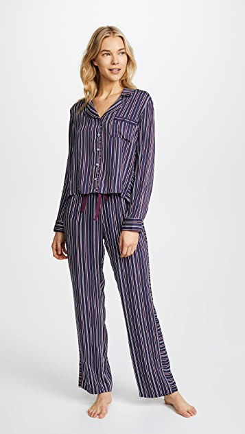 Splendid Inviting Stripe PJ Set