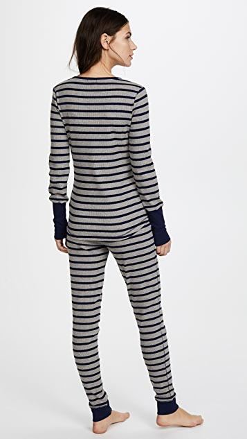 Splendid Pleasant Stripe PJ Set