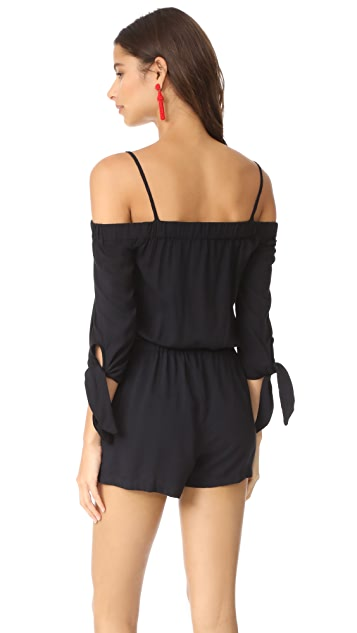 Splendid Off the Shoulder Romper