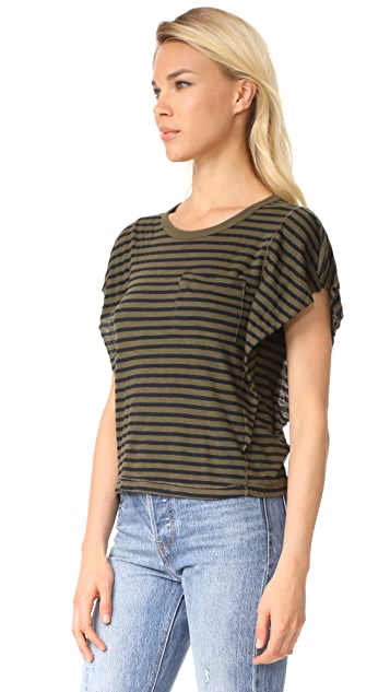 Splendid French Stripe Tee